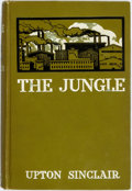 """Books:Literature 1900-up, Upton Sinclair. The Jungle. New York: Doubleday, Page, 1906.First edition, after the author-financed """"Jungle Publis..."""