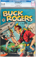 Golden Age (1938-1955):Science Fiction, Buck Rogers #1 (Eastern Color, 1940) CGC VG/FN 5.0 Cream tooff-white pages....