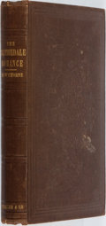 Books:Literature 1900-up, Nathaniel Hawthorne. The Blithedale Romance. Boston:Ticknor, Reed, and Fields, 1852. Second printing. Octavo. [...