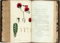 Books:Natural History Books & Prints, J.J. Rousseau. Letters on the Elements of Botany. Translatedby Thomas Martyn. Bright, hand-colored engravings throu...