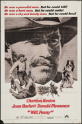 """Movie Posters:Western, Will Penny & Other Lot (Paramount, 1968). One Sheets (2) (27"""" X41""""). Western.. ... (Total: 2 Items)"""
