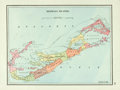 """Books:Maps & Atlases, [Maps]. Map of the Bermuda Islands. N.d. Measures 17.5"""" x 12.5"""". Fine. . ..."""