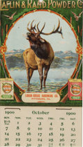 Advertising:Signs, Alfin & Rand Powder Co. 1900 Calendar....