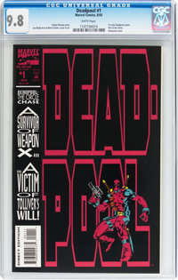 Deadpool #1 (Marvel, 1993) CGC NM/MT 9.8 White pages