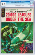 Silver Age (1956-1969):Science Fiction, Movie Comics: #20,000 Leagues Under the Sea - Bethlehem pedigree(Gold Key, 1963) CGC VF/NM 9.0 Cream to off-white pages....