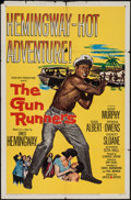 "Movie Posters:Adventure, The Gun Runners & Other Lot (United Artists, 1958). One Sheet(27"" X 41""). Adventure.. ... (Total: 2 Items)"