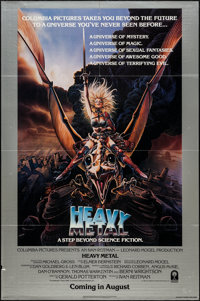"Heavy Metal (Columbia, 1981). One Sheet (27"" X 41"") Advance. Animation"