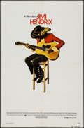 """Movie Posters:Rock and Roll, Jimi Hendrix (Warner Brothers, 1973). One Sheet (27"""" X 41""""). Rockand Roll.. ..."""