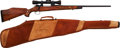 Long Guns:Bolt Action, Weatherby F.N. Mauser Deluxe Bolt Action Rifle Presented to GeorgeReedy from the President of the United States, Lyndon B. Jo...(Total: 2 Items)