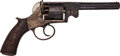 Handguns:Double Action Revolver, Double Action Percussion Revolver by T. Bradburn & Son....