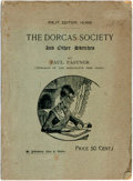 Books:Americana & American History, Paul Pastnor. The Dorcas Society and Other Sketches. St.Johnsbury: Charles T. Walter, 1889. First edition. Includes...