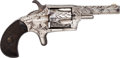 Handguns:Derringer, Palm, Hopkins & Allen Ranger No. 2 Pocket Revolver....