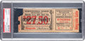 Boxing Collectibles:Memorabilia, 1926 Jack Dempsey vs. Gene Tunney Heavyweight Championship Full Ticket....