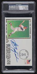 Autographs:Others, Signed Carl Yastrzemski First Day Cover PSA/DNA Authentic....