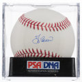 Autographs:Baseballs, Yogi Berra Single Signed Baseball PSA Gem Mint 10....