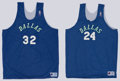 Basketball Collectibles:Uniforms, Jamal Mashburn and Jim Jackson Practice Jerseys....