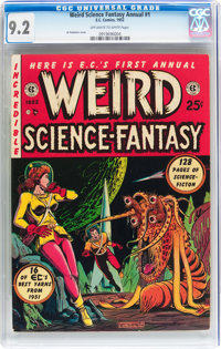 Weird Science-Fantasy Annual #1 (EC, 1952) CGC NM- 9.2 Off-white to white pages