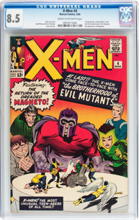 X-Men #4 (Marvel, 1964) CGC VF+ 8.5 Cream to off-white pages