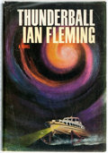 Books:Mystery & Detective Fiction, Ian Fleming. Thunderball. New York: Viking Press, 1961.First American edition. Publisher's yellow cloth and origina...