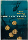 Books:Mystery & Detective Fiction, Ian Fleming. Live and Let Die. New York: Macmillan, 1955.First American edition. Publisher's blue-black cloth-patte...