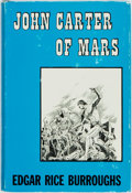 Books:Science Fiction & Fantasy, Edgar Rice Burroughs. John Carter of Mars. New York: Canaveral Press, 1964. First edition, first state, with the spi...