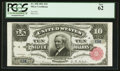 Large Size:Silver Certificates, Fr. 298 $10 1891 Silver Certificate PCGS New 62.. ...