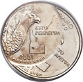 Errors, 2007-D 25C Idaho State Quarter -- Double Struck, Second Strike 40% Off Center -- MS66 PCGS....