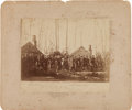 Photography:Stereo Cards, Photograph: Union General Alexander Hays and Staff....