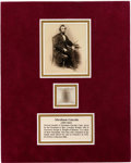 Political:Presidential Relics, Abraham Lincoln: Six Strands of Hair....