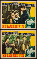"""Movie Posters:Comedy, My Favorite Wife (RKO, 1940). Lobby Cards (2) (11"""" X 14""""). Comedy..... (Total: 2 Items)"""