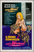 """Movie Posters:Bad Girl, 1,000 Convicts and a Woman & Others Lot (AmericanInternational, 1971). One Sheets (5) (27"""" X 41""""), Three Sheet (41""""X 79""""),... (Total: 7 Items)"""