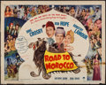 """Movie Posters:Comedy, Road to Morocco (Paramount, 1942). Half Sheet (22"""" X 28"""") Style A.Comedy.. ..."""