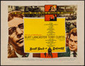 """Movie Posters:Drama, Sweet Smell of Success (United Artists, 1957). Half Sheet (22"""" X28"""") Style B. Drama.. ..."""