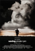 "Movie Posters:War, Saving Private Ryan (Paramount, 1998). One Sheet (27"" X 40"") DS Advance & Regular. War.. ... (Total: 2 Items)"