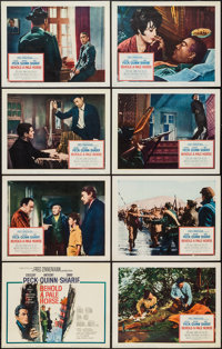 "Behold a Pale Horse & Other Lot (Columbia, 1964). Lobby Card Sets of 8 (2) (11"" X 14""). War. ... (Tota..."