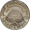 Argentina: , Argentina: La Rioja. 2 Reales 1843-RB, KM15, MS63 NGC, a superb andcompletely original example with light gray and sea green toning,e...