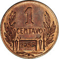 Argentina: , Argentina: Republic Copper Pattern Tandem, KM-Pn43 Centavo 1935,MS64 NGC Brown and KM-Pn44 2 Centavos 1935, MS65 NGC Brown. Bothpatte... (Total: 2 Coins Item)