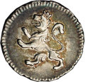 Bolivia: , Bolivia: Carlos IIII 1/4 Real 1799, KM82, MS62 NGC, attractive blue-green and gray toning with just the slightest rub on the high poi...