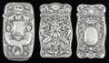 Silver Smalls:Match Safes, THREE AMERICAN SILVER MATCH SAFES, Gorham Manufacturing Co.,Providence, Rhode Island, circa 1916. Marks: (lion-anchor-G), ...(Total: 3 Items)