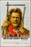 "Movie Posters:Western, The Outlaw Josey Wales (Warner Brothers, 1976). One Sheet (27"" X 41""), Uncut Pressbook (12 Pages, 9.5"" X 14""), & Ad Suppleme... (Total: 3 Items)"