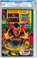 Silver Age (1956-1969):Horror, Strange Tales #156 (Marvel, 1967) CGC NM 9.4 Off-white to whitepages....