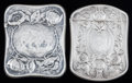Silver Smalls:Match Safes, TWO AMERICAN SILVER MATCH SAFES, Gorham Manufacturing Co.,Providence, Rhode Island, circa 1899. Marks: (lion-anchor-G),S... (Total: 2 Items)