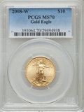 Modern Bullion Coins, 2008-W $10 Gold Eagle MS70 PCGS. PCGS Population (1104). NGC Census: (0). Numismedia Wsl. Price for problem free NGC/PCGS ...