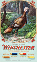 "Advertising:Signs, Winchester 1905 Shells Poster Titled ""Cock of the Woods,""..."
