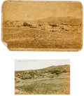 Photography:Cabinet Photos, Tombstone, Arizona: A Rare Early Cabinet Photo.... (Total: 2 Items)