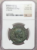 Ancients:Roman Imperial, Ancients: Pupienus (AD 238). Æ sestertius (22.04 gm)....