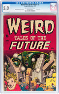 Golden Age (1938-1955):Horror, Weird Tales of the Future #2 (Aragon, 1952) CGC VG/FN 5.0 Off-whiteto white pages....