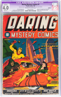 Daring Mystery Comics #1 (Timely, 1940) CGC Apparent VG 4.0 Slight (A) Off-white to white pages