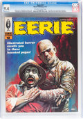 Magazines:Horror, Eerie #12 (Warren, 1967) CGC NM 9.4 Off-white to white pages....
