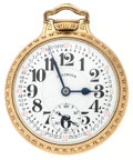 Timepieces:Pocket (post 1900), Illinois 161A Elinvar Sixty Hour 21 Jewel Bunn Special. ...